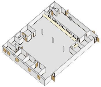 modular building that could be used for church service - click picture to see larger version